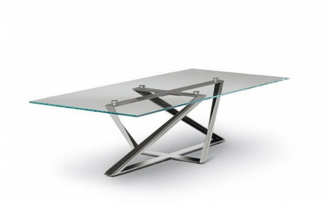 Bontempi Millennium Square or Rectangle Coffee Table