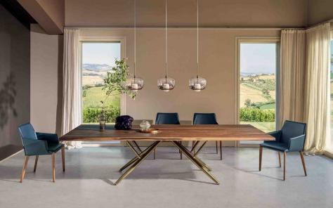 Bridge Wood Dining Table