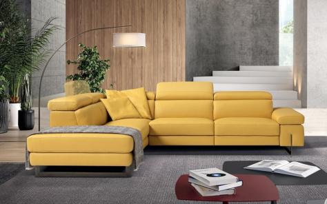 Candy Italian Recliner Sofa