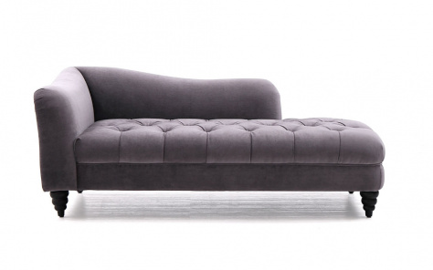 Chester Buttoned Chaise Lounge