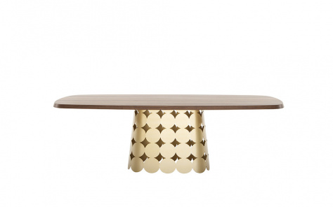 Connect Dining Table - Gold Base