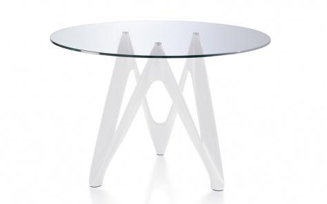 Dante Dining Table - White Base