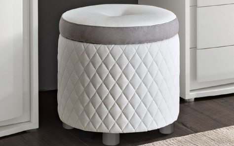 Dexter Dressing Table Pouff