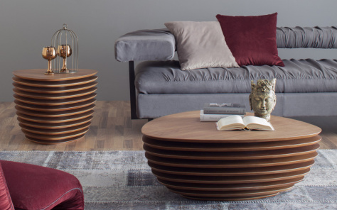 Dipper Coffee Table Canaletto Walnut