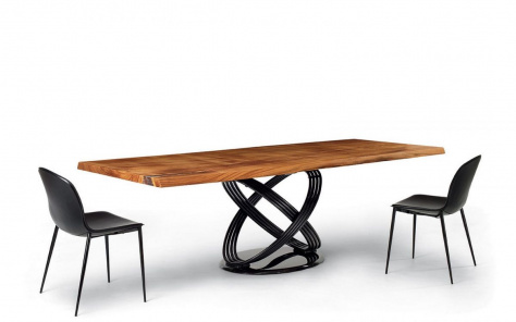 Fusion Rectangle Dining Table - Wood