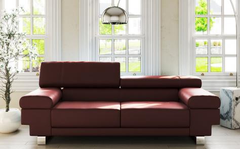 Kudos Leather Sofa