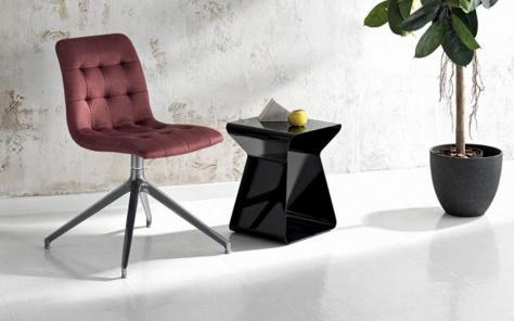 Kuga Slim Swivel Dining Chair