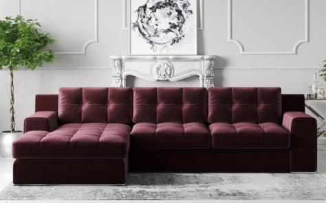 Lazio Fabric Corner Sofa
