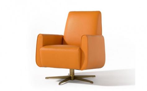 Lizzi Italian Modern Swivel Chair