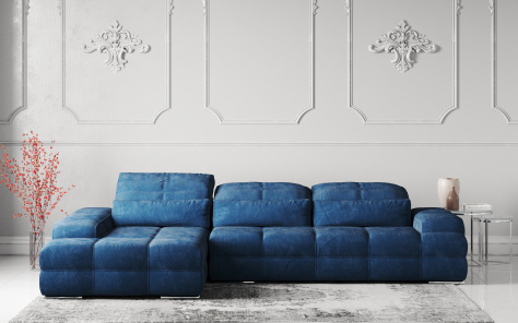 Love Fabric Corner Sofa