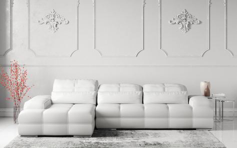 Love Leather Corner Sofa