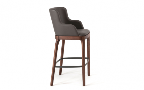 Magda Carver Bar Stool