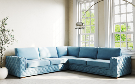 Manhattan Fabric Corner Sofa