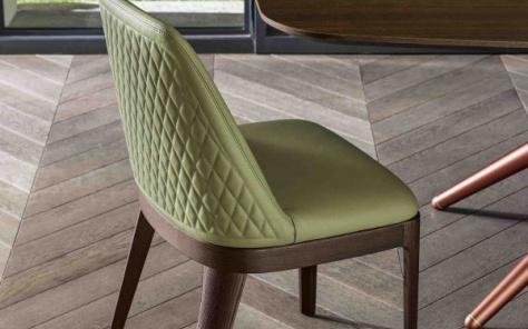 Margot  Dining Chair - Wood Legs