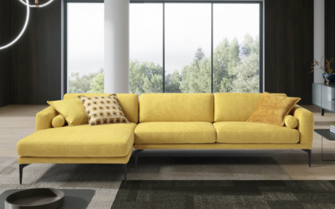 Marisa Italian Designer Corner Sofa