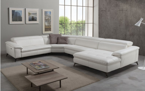 Martine Electric Recliner Corner Sofa