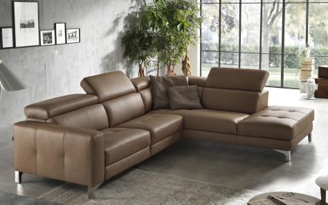 Matteo Designer Italian Corner Sofa