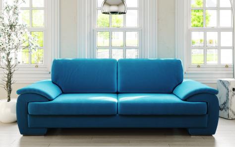 Melinda Designer Fabric Sofa