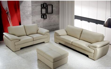 Melinda Leather Sofa