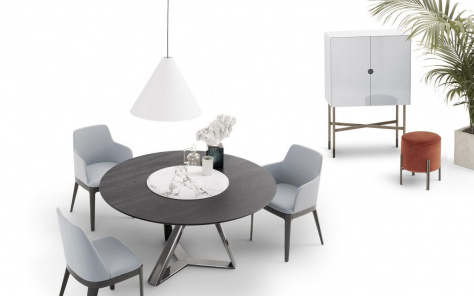 Millennium Ring Round Dining Table