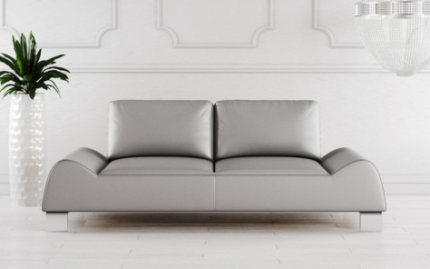 Mondena Leather Sofa