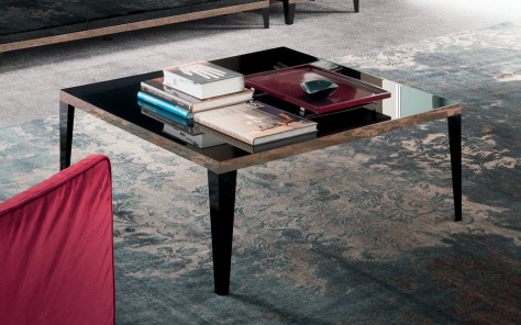 Noir Square Coffee Table