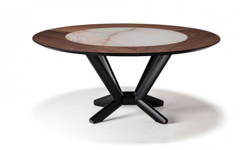 Planer Ker-Wood Round Dining Table