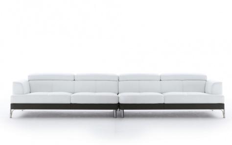 Plaza Leather 5 / 6 Seater Sofa