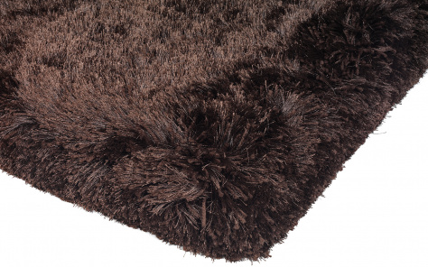 Plush Designer Dark Chocolate Rug - Asiatic