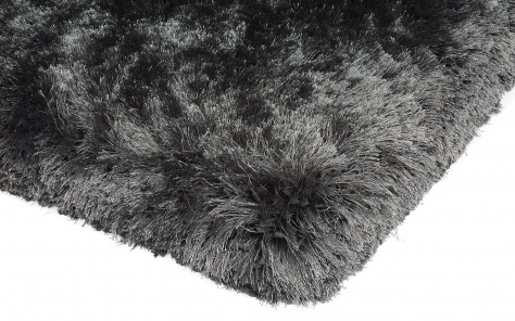 Plush Contemporary Slate Rug - Asiatic