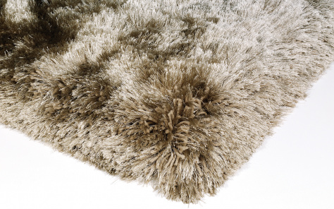 Plush Designer Taupe Rug - Asiatic