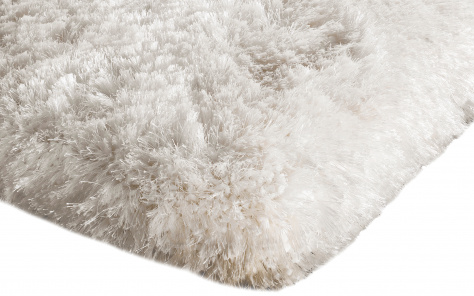 Plush Designer White Rug - Asiatic