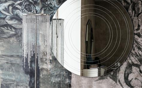 Ring Designer Round Mirror