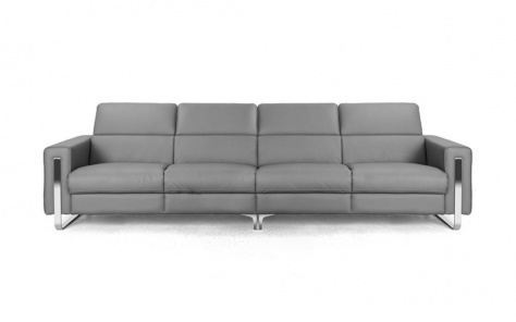 Rocco 5 Seater Leather Sofa