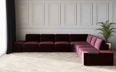 Spectrum Maxi Fabric Corner Sofa