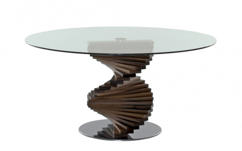 Spirio Dining Table  - Canaletto Walnut Base