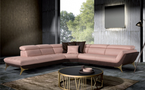Swelli Corner Sofa Two Tone Sofa