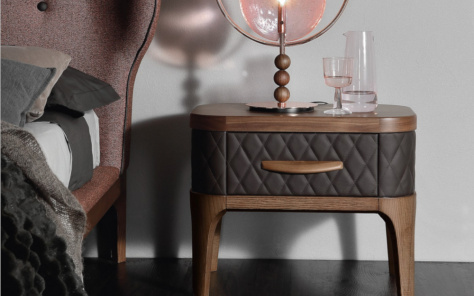 Tiffany Upholstered Nightstand