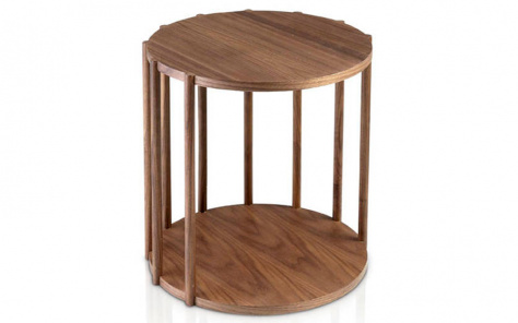 Troy Cage Side Table
