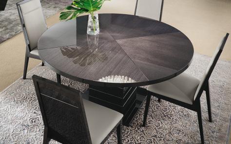 Versilia Round Dining Table - High Gloss Finish