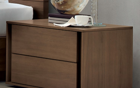 VIP 2 Drawer Nightstand