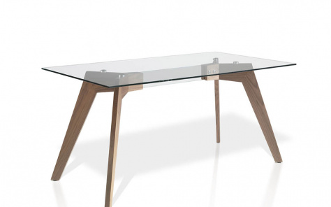 Luca Dining Table - Walnut Base