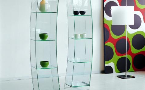 Wind Glazed Cabinet