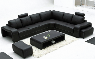 Palermo Leather Corner Sofa