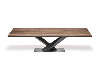 Stratos Wood Dining Table - Version A
