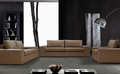 Santo Leather Sofa