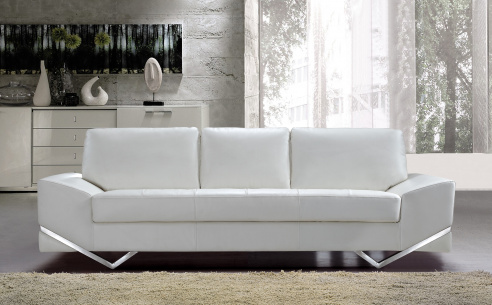Madison Leather Sofa