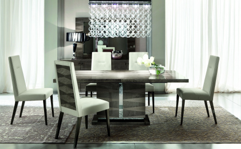 Monaco Dining Table and 4 Chairs