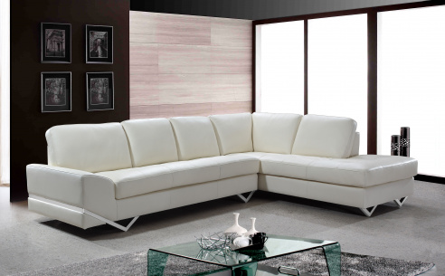 Madison Leather Corner Sofa
