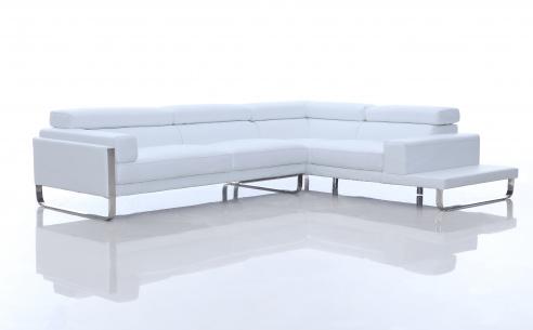 Juliett Modern Leather Corner Sofa